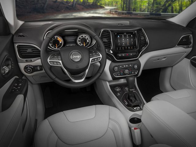 2019 Jeep Cherokee Driver Console