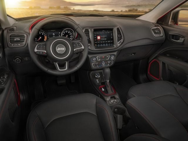 Jeep Compass Driver Console