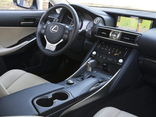 2020 Lexus IS Front Seat