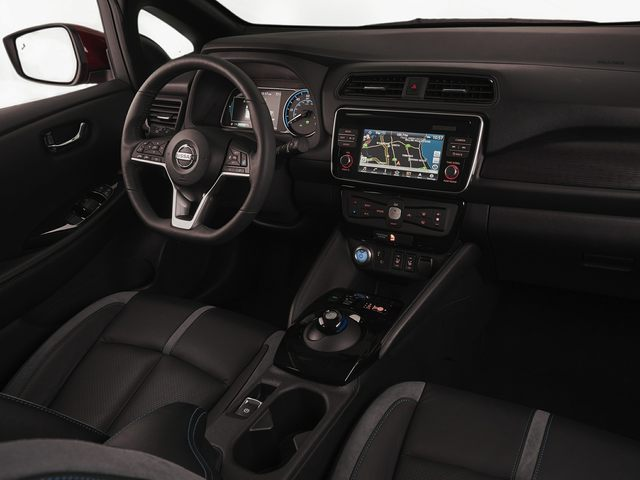 Nissan LEAF Driver Console