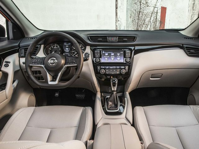 Nissan Rogue Sport Driver Console