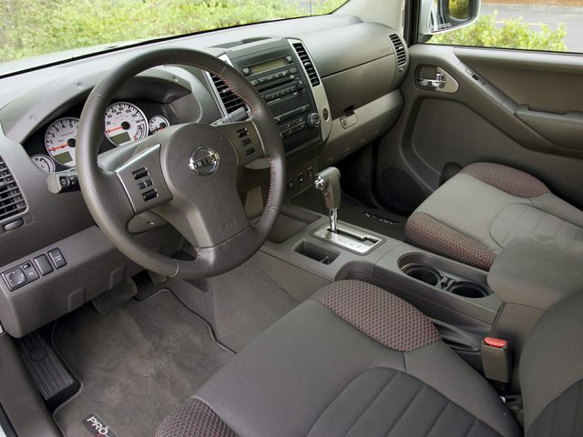 Nissan Frontier Driver Interior