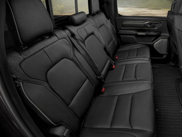 Ram 1500 Rear Interior