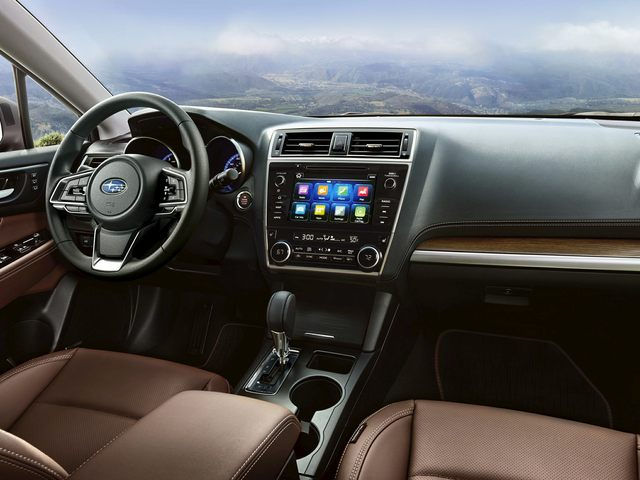 New Subaru Outback Technology and Interior