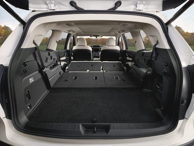 Subaru Ascent Rear Interior