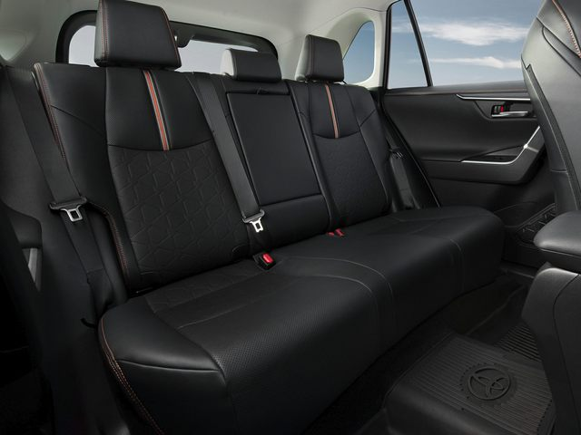 Toyota RAV4 Rear Interior