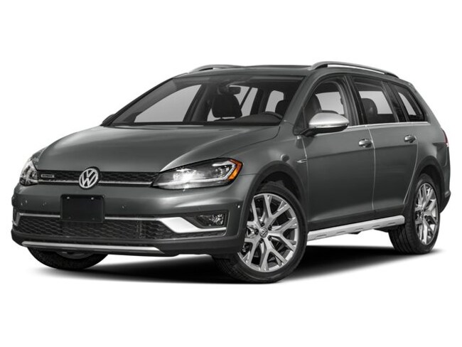 New Pure White 2019 Volkswagen Golf Alltrack For Sale ...
