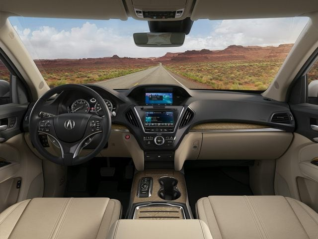 2020 Acura MDX Front Seat