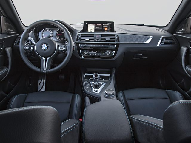 2020 BMW M2 Front Seat
