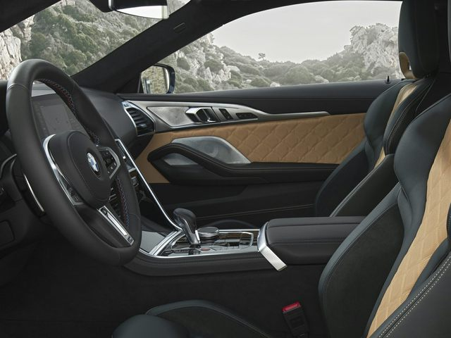 2020 BMW M8 Front Seat