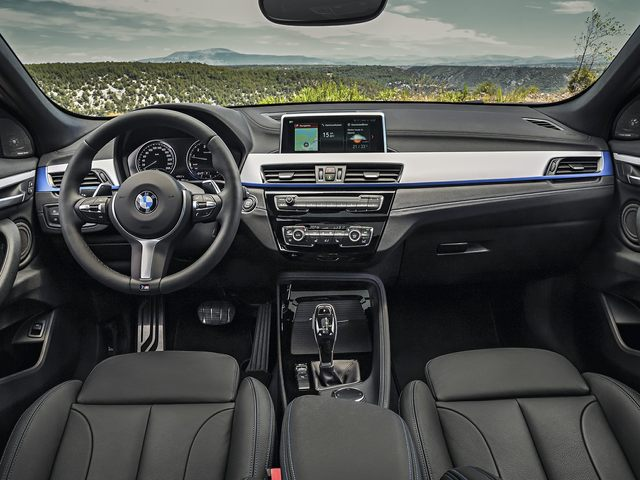 2020 BMW X2 Front Seats