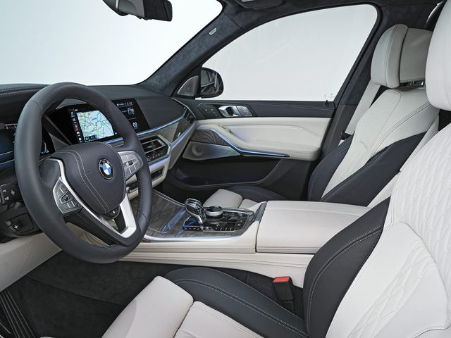 2020 BMW X7 Front Seat