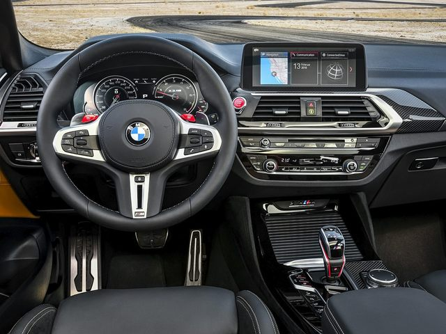 2020 BMW X3 M Front Seat