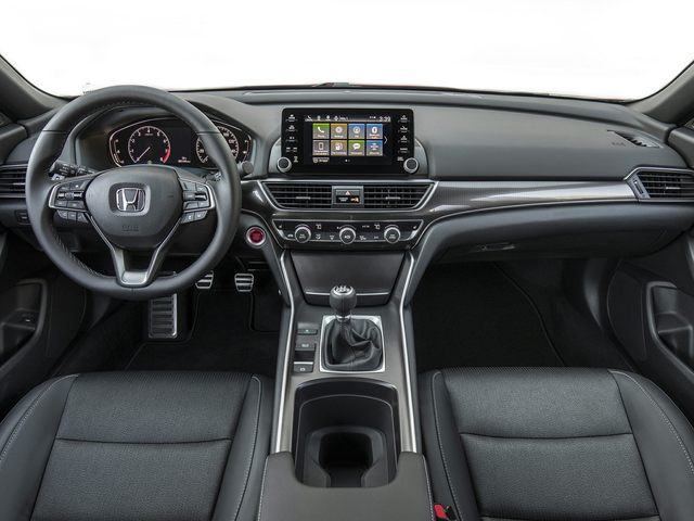 Honda Accord Driver Interior