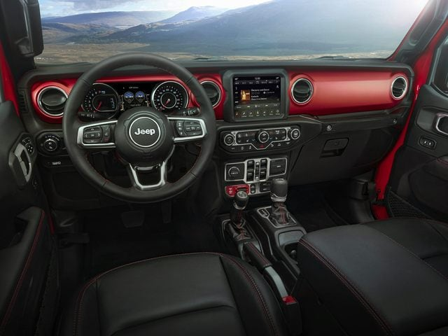 2020 Jeep Gladiator Front Seat