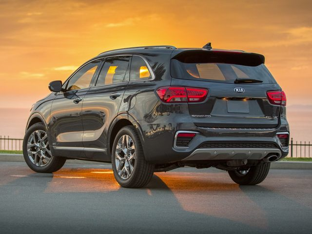 Kia Sorento Rear Exterior Grey