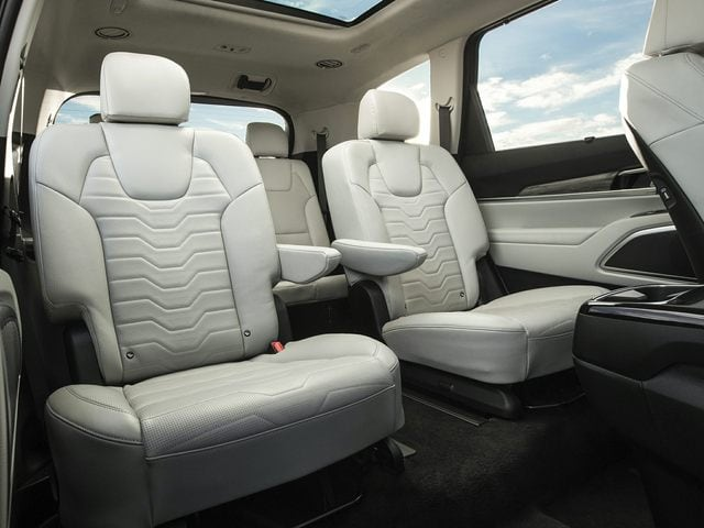 Kia Telluride Rear Interior