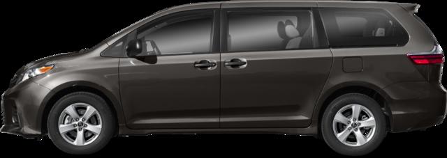 2020 Toyota Sienna Furgoneta LE 8 Pasajeros