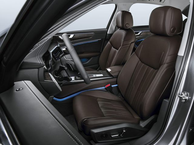 2021 Audi A6 Front Seat