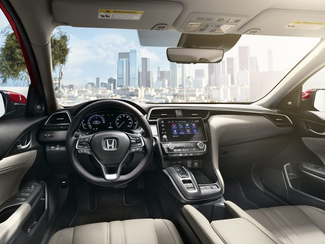 2021 Honda Insight Front Seat