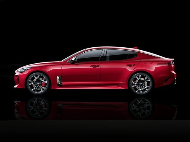 2021 Kia Stinger Driver Side