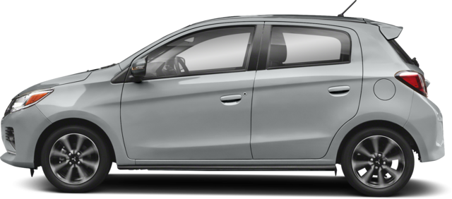 2021 Mitsubishi Mirage Hatchback Carbonite Edition