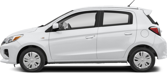 2021 Mitsubishi Mirage Hatchback Carbonite Edition