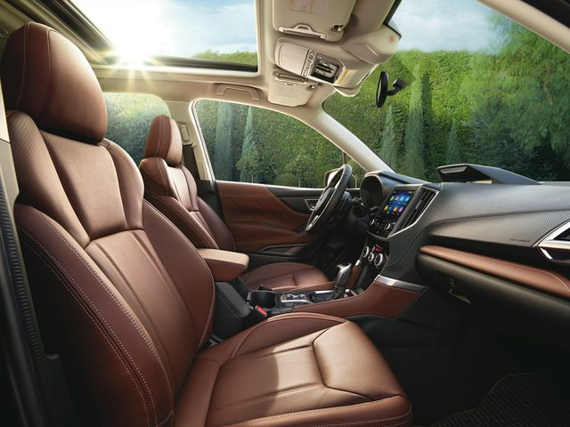 2021 Subaru Forester Front Seat