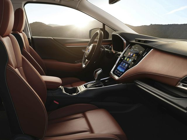 2021 Subaru Outback Front Seat
