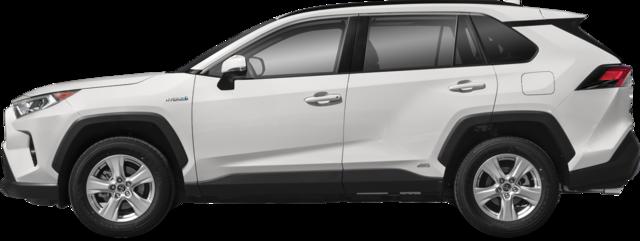 2021 Toyota RAV4 Hybrid SUV XLE