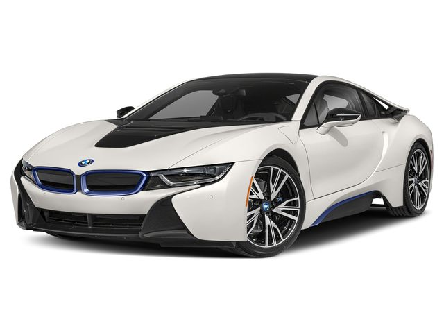 2019 BMW I8 Coupe Crystal White Pearl Metallic W I Frozen Blue