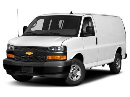 2019 Chevrolet Express 2500 Work Van Cargo Van Extended Cargo Van 1GCWGBFP1K1160701