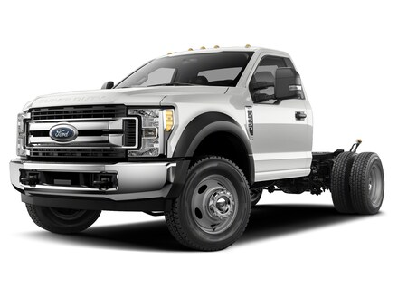 2019 Ford F-550 Chassis XL Truck Regular Cab 4x4