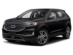 2019 Ford Edge Titanium Leather Navigation Power Sunroof Heated and Cooled Seats Stoepel Certified  SUV