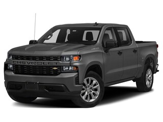 New 2020 Chevrolet Silverado 1500 Silverado Custom Truck Crew Cab for sale in Lafayette, IN