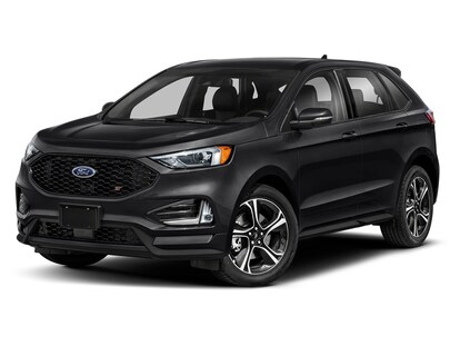 New 2020 Ford Edge St For Sale Near Dubuque Shop Black Suv