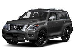 New 2020 Nissan Armada Platinum SUV in West Simsbury