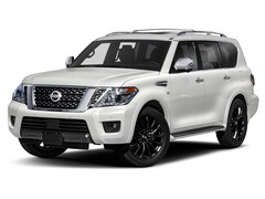 New 2020 Nissan Armada Platinum SUV Lake Norman, North Carolina