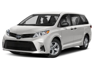 New 2020 Toyota Sienna LE 8 Passenger Van in San Antonio, TX