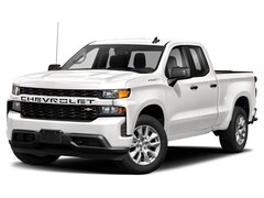 New 2021 Chevrolet Silverado 1500 Custom Truck Double Cab for Sale in Frankfort, Lansing, & Bradley, IL
