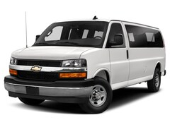New 2021 Chevrolet Express 3500 LS Van Extended Passenger Van for Sale in Frankfort, Lansing, & Bradley, IL