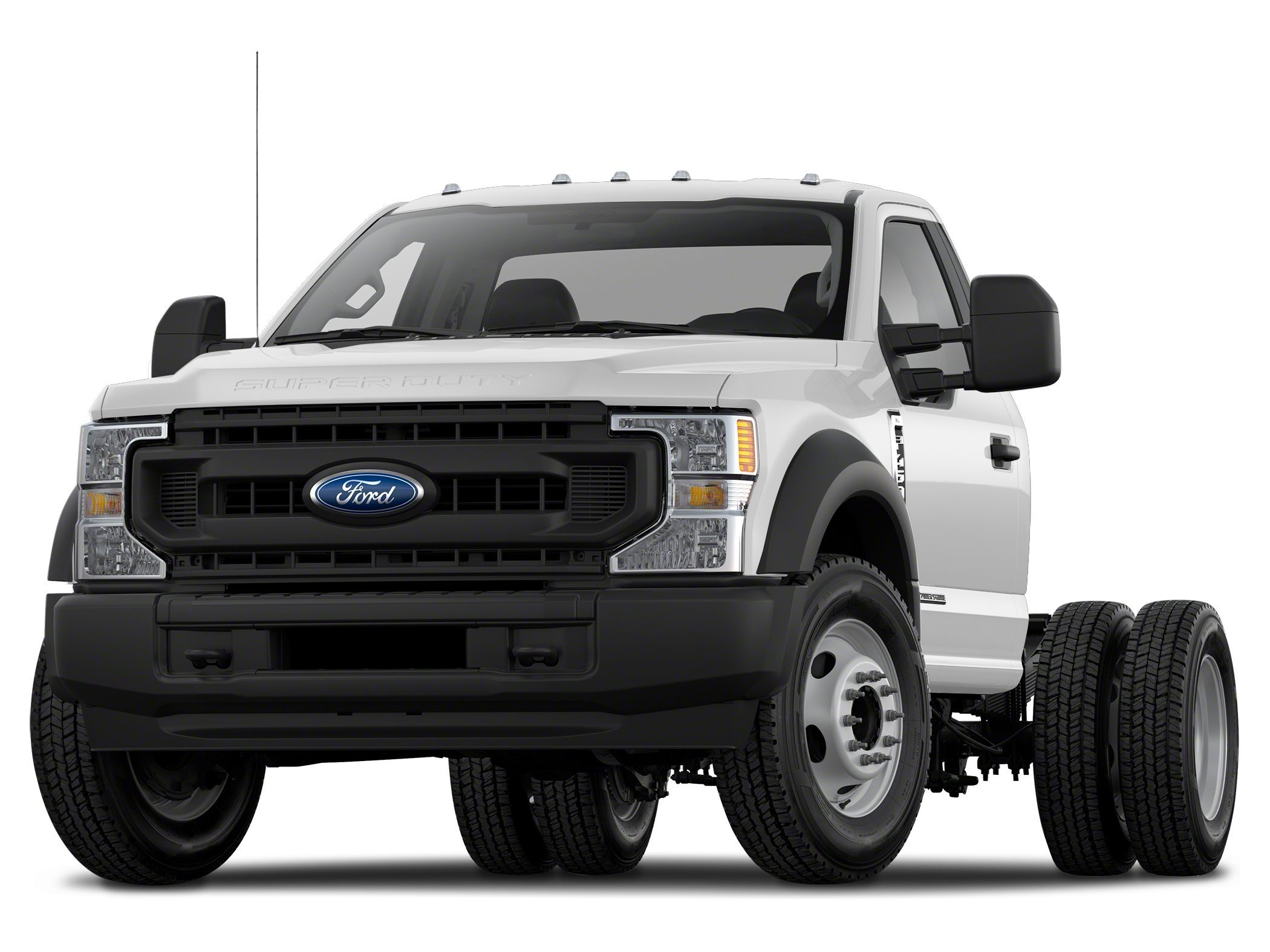 2021 Ford F-550 Chassis Regular Cab Chassis-Cab