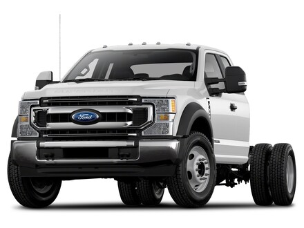 2021 Ford Super Duty F-550 DRW XL Extended Cab Chassis-Cab
