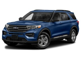 2021 Ford Explorer XLT SUV 1FMSK8DH2MGA13696 for sale near Elyria, OH at Mike Bass Ford