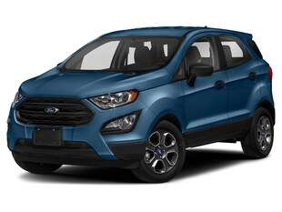 2021 Ford EcoSport S Sport Utility