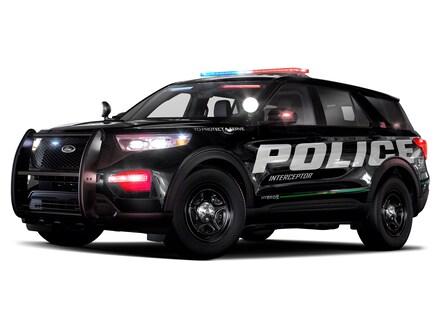 2021 Ford Police Interceptor Utility SUV 1FM5K8AWXMNA19886