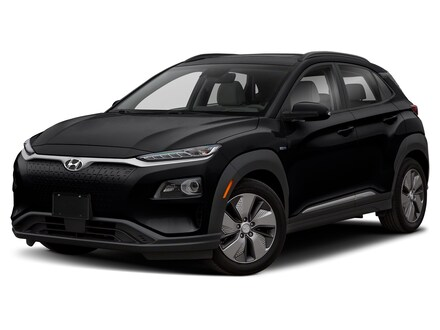 2021 Hyundai Kona Electric Ultimate SUV Ultra Black