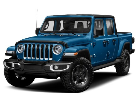 Featured new cars, trucks, and SUVs 2021 Jeep Gladiator OVERLAND 4X4 Crew Cab for sale near you in Somerset, PA