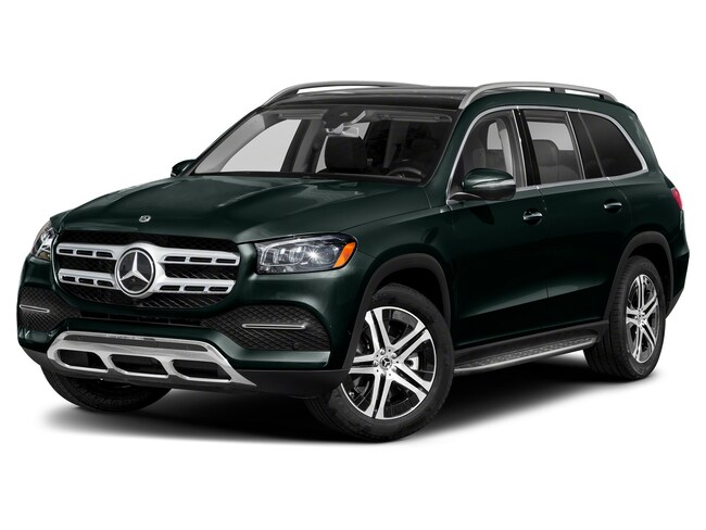 New Mercedes-Benz vehicle 2021 Mercedes-Benz GLS 450 4MATIC SUV for sale near you in Loves Park, IL
