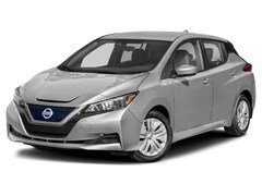 New 2021 Nissan LEAF S PLUS Hatchback 1N4BZ1BV3MC553541 For Sale in South Burlington
